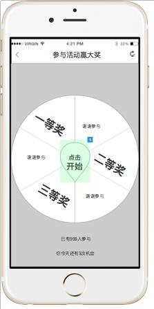 大转盘活动设计:一天搞定流程图,功能结构图与原型图