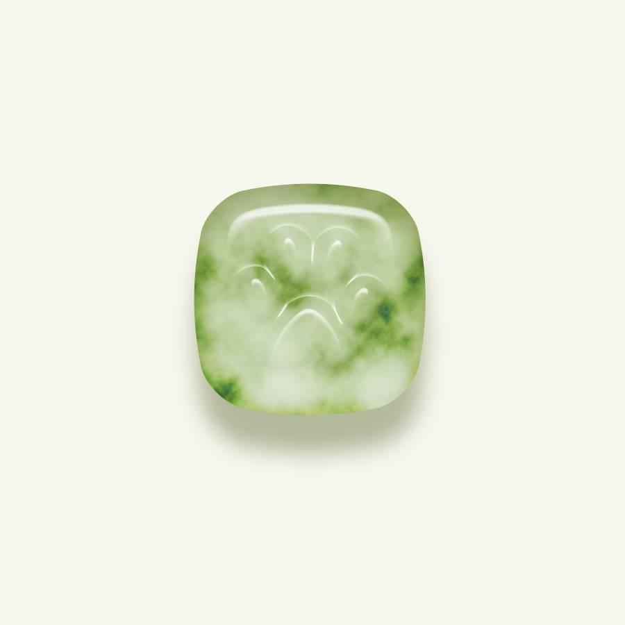 利用ps设计制作玉石质感的图标