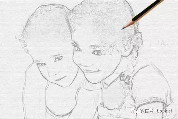 ps铅笔手绘图怎么做 铅笔手绘图制作方法