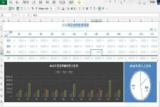 企业收入分析报表excel模板下载