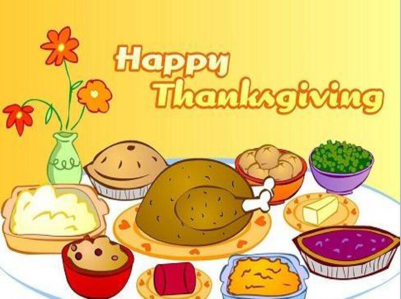 感恩节的传统美食PPT模板