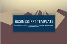 简约大方欧美商务PPT模板