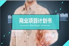 扁平化实用商业项目策划计划书ppt模板