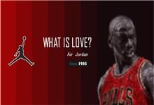 体育运动篮球主题乔丹背景ppt模板