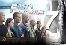 速度与激情7电影主题ppt模板