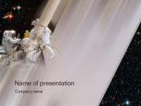 探索太空科技PPT模板