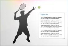 创意精美体育运动PPT模板
