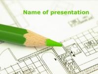 房屋设计行业PPT模板