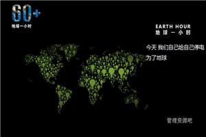 地球一小时PPT模板