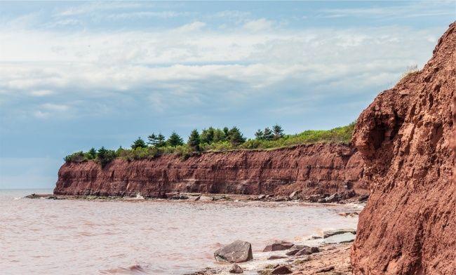 海岸悬崖图片