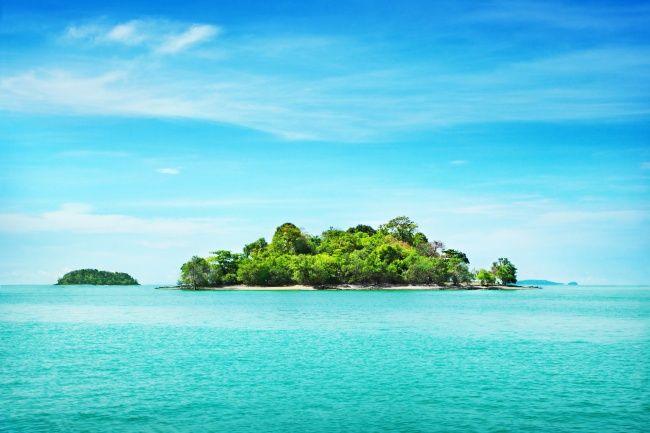 唯美海岛图片