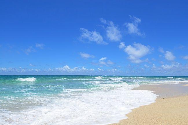 潮起潮落的大海图片