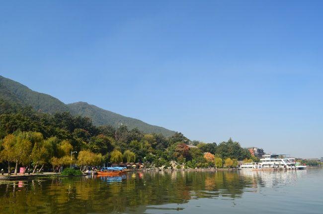 邛海公园美丽风景图片