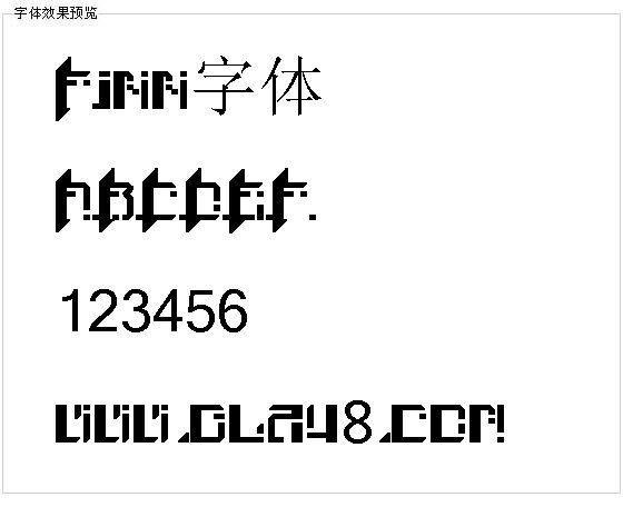 Finn字体