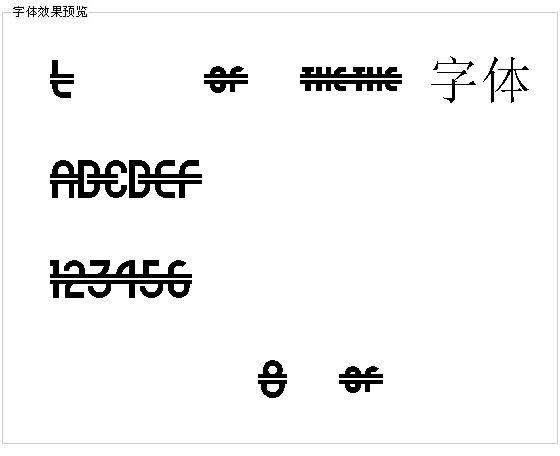 Luncheonette字体
