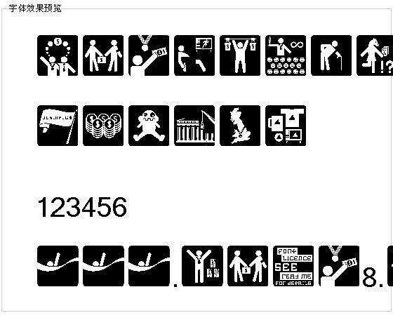 Olympukes字体
