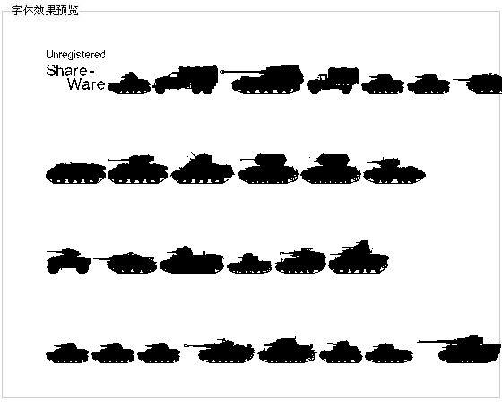 Tanksww2字体