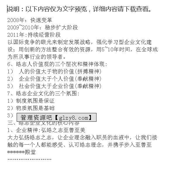 XX集团企业文化手册PPT