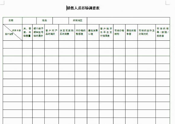 家庭信息调查表_人口信息调查表