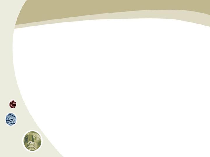 简单咖啡色线条ppt模板