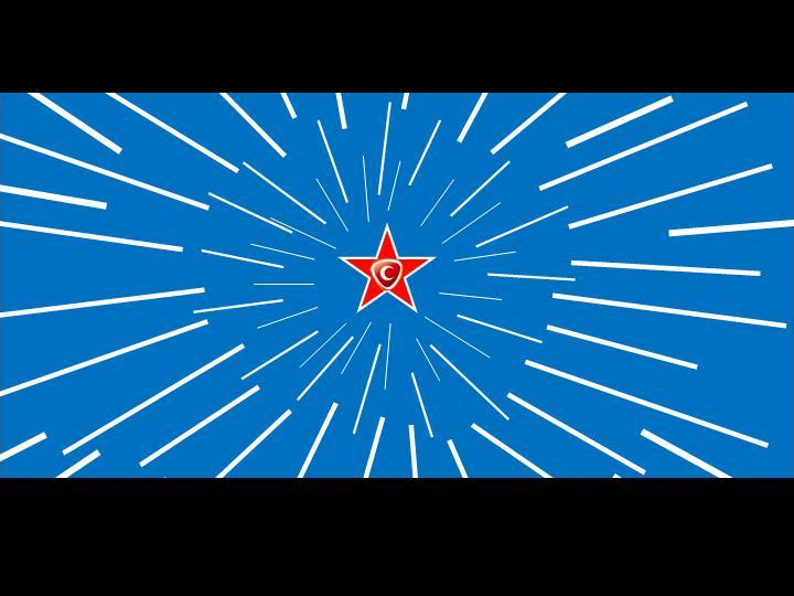 动态ppt模板闪闪红星效果图片