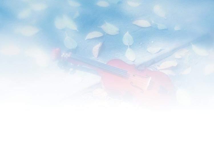 小提琴清新淡雅ppt背景图片
