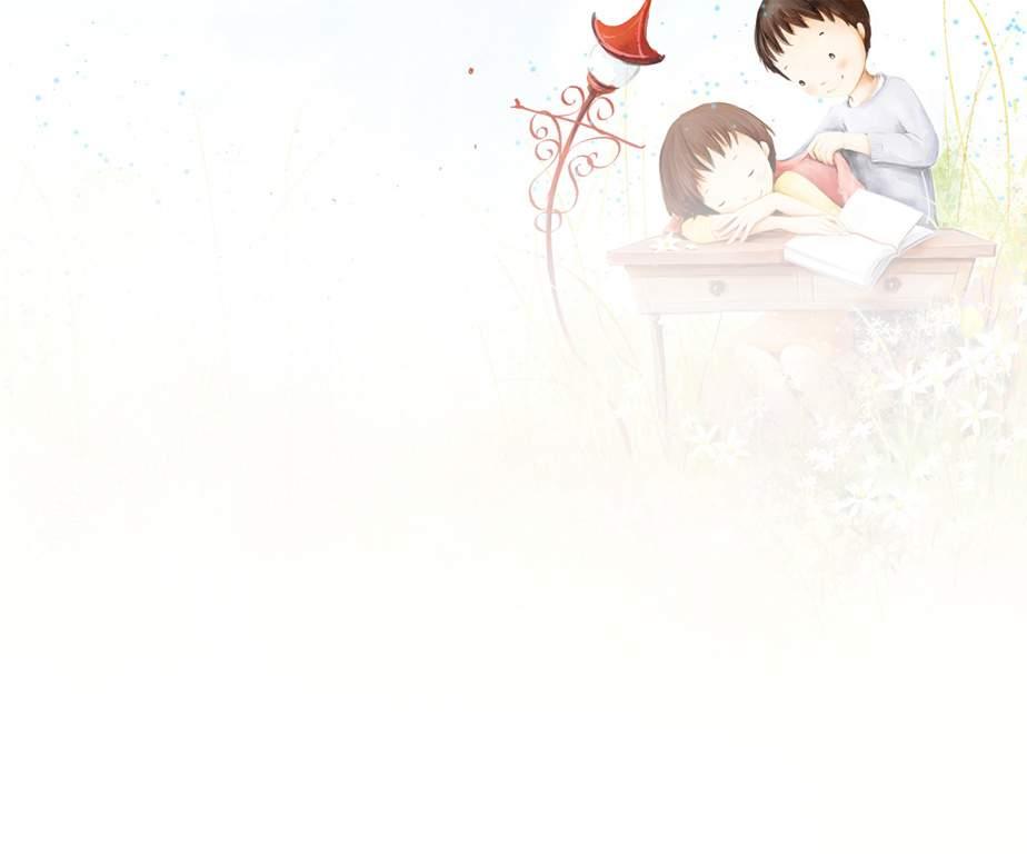 情人关心可爱卡通ppt幻灯片背景素材