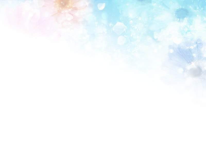 清晰淡雅花瓣蓝白ppt背景图片