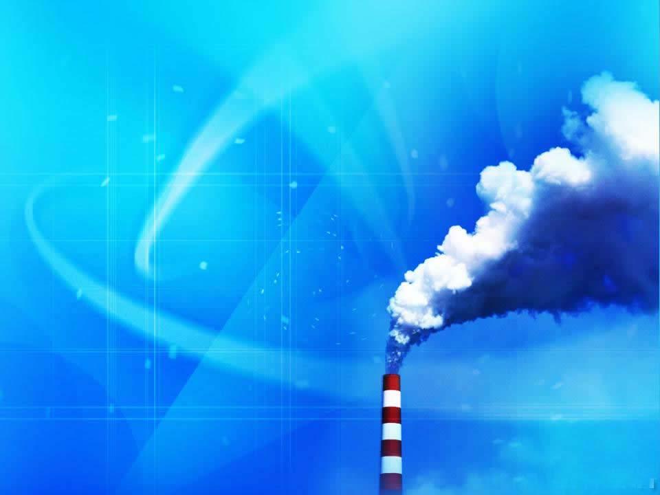 保护环境PPT背景 蔚蓝的天空PPT课件背景图片