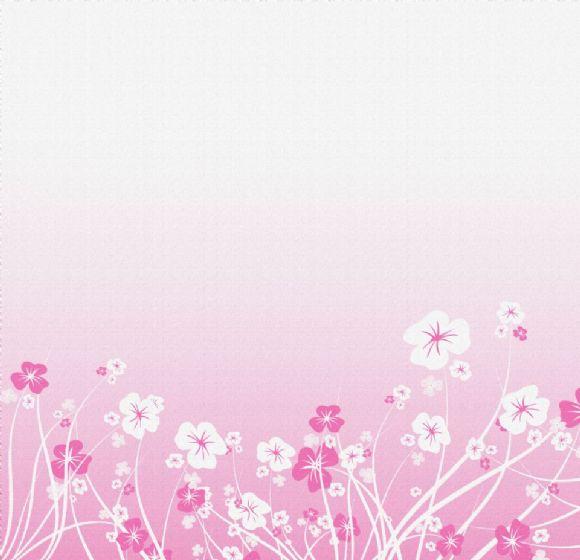 粉色花纹ppt背景图片