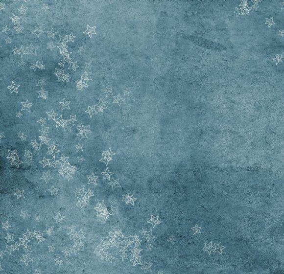 蓝色星星ppt背景图片