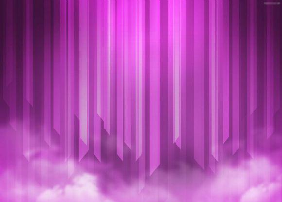 高清紫色ppt背景图片下载