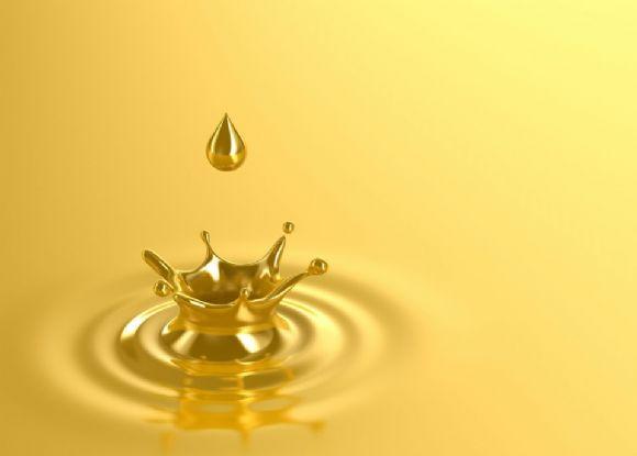 金色水滴ppt背景图片