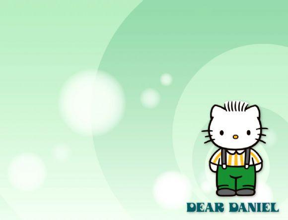hello kitty可爱ppt背景图片_管理资源吧