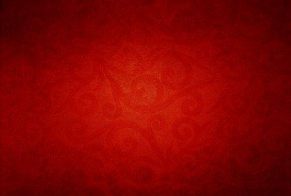 纯红色ppt背景图片