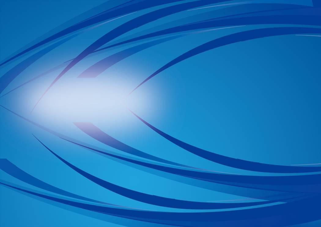 蓝色线条商务PPT模板