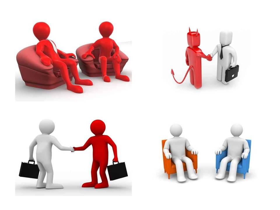 ppt素材 商务交流对话3d小人图片素材