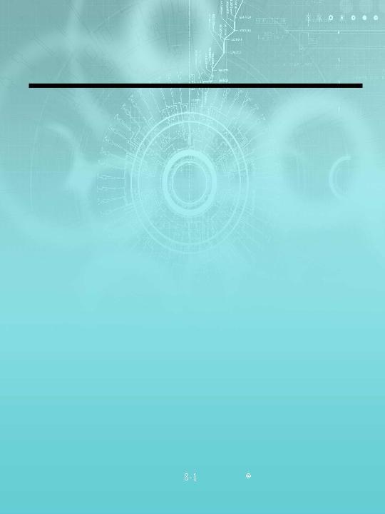 竖版淡蓝色电路图背景风格图案ppt模板