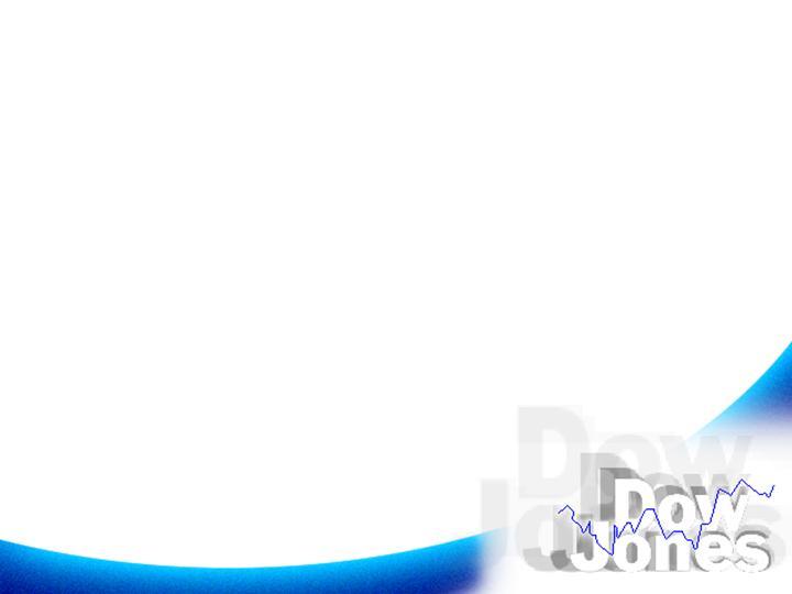白蓝商务背景ppt模板